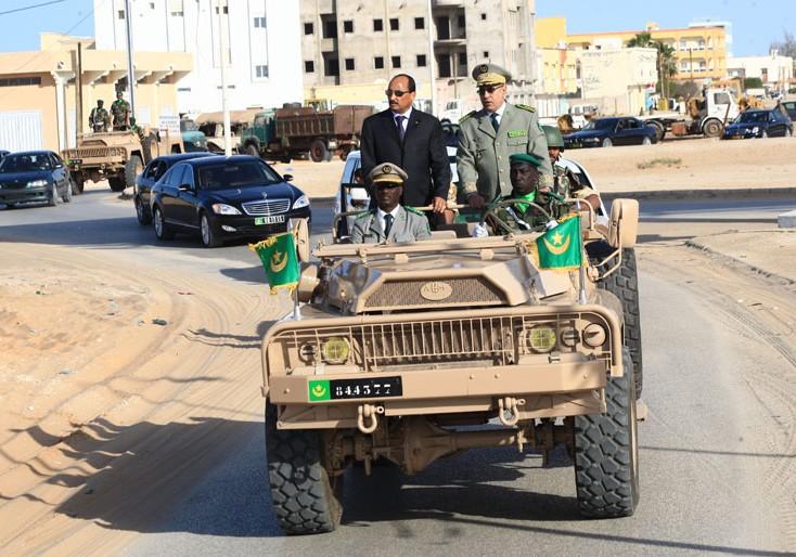 Mauritanie: Cinq colonels promus au grade de Général