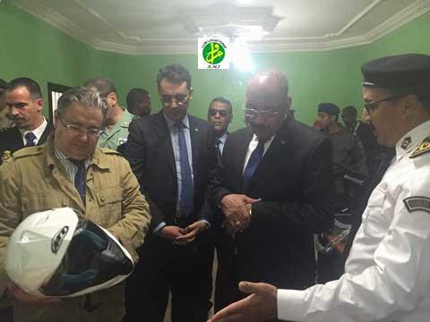 Le ministre de l'intérieur et son homologue espagnole en visite à Nouadhibou