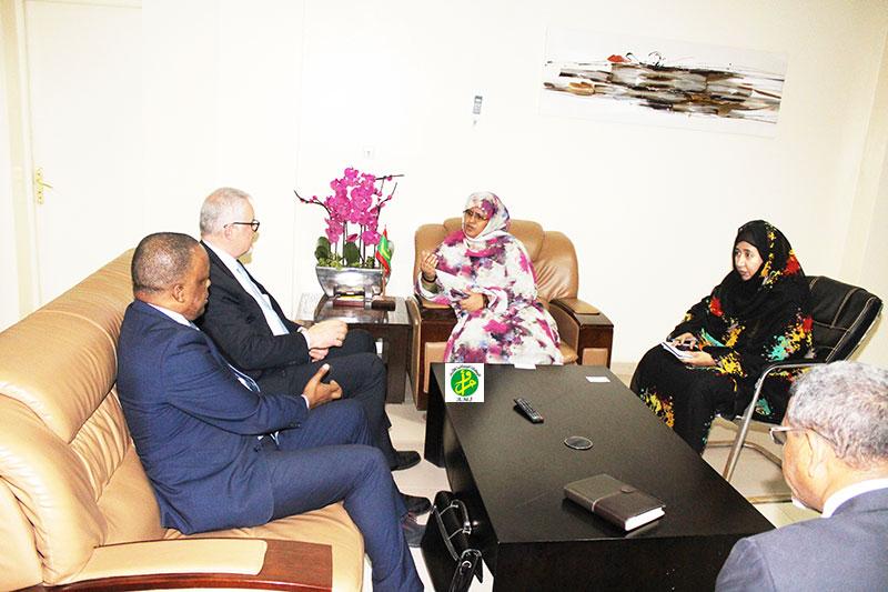 La ministre de l'Elevage reçoit le Coordinateur de la FAO pour l'Afrique du Nord