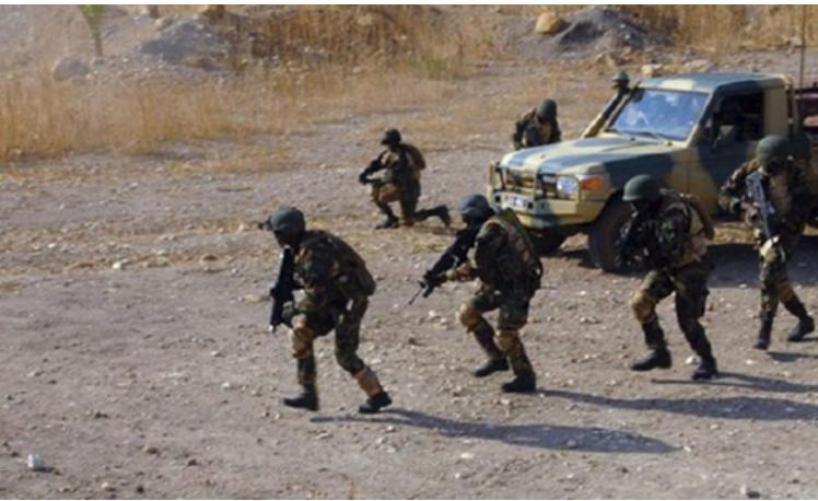 Rosso Rencontre des Forces de défense et de sécurité de la Mauritanie et du Sénégal :