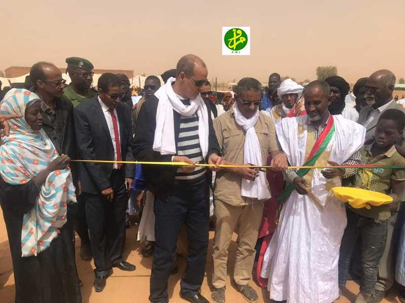 Le Directeur Général de TADAMOUN supervise l'inauguration d'édifices sanitaires et pédagogiques