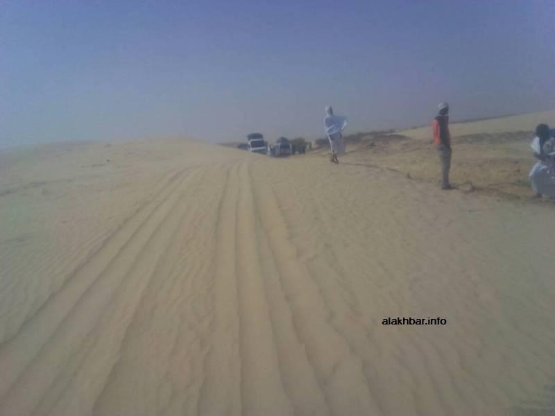 Les dunes coupent la route et isolent le Tagant