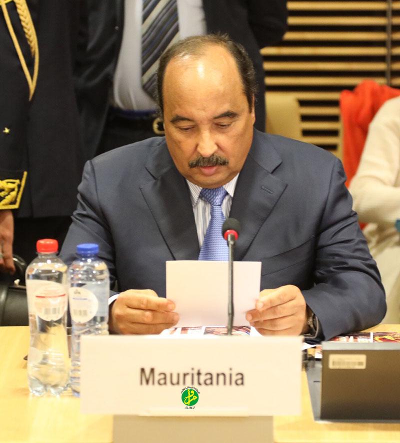 Le Président de la République à la Conférence sur le G5 Sahel :Les partenaires du G5 Sahel appelés à s'engager dans cette œuvre si cruciale pour l'avenir du Sahel,et pour la paix