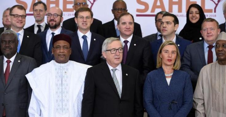 Conférence de Bruxelles : plus de 400 millions d'euros pour la force commune du G5