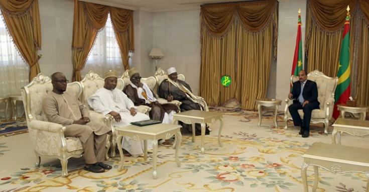 Mahi Niass : « notre visite en Mauritanie témoigne de la qualité des liens entre la Mauritanie et le Sénégal »