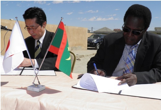 SEBKHA : l'ambassade du Japon et l'association Naforé à l'appui du Centre de Santé