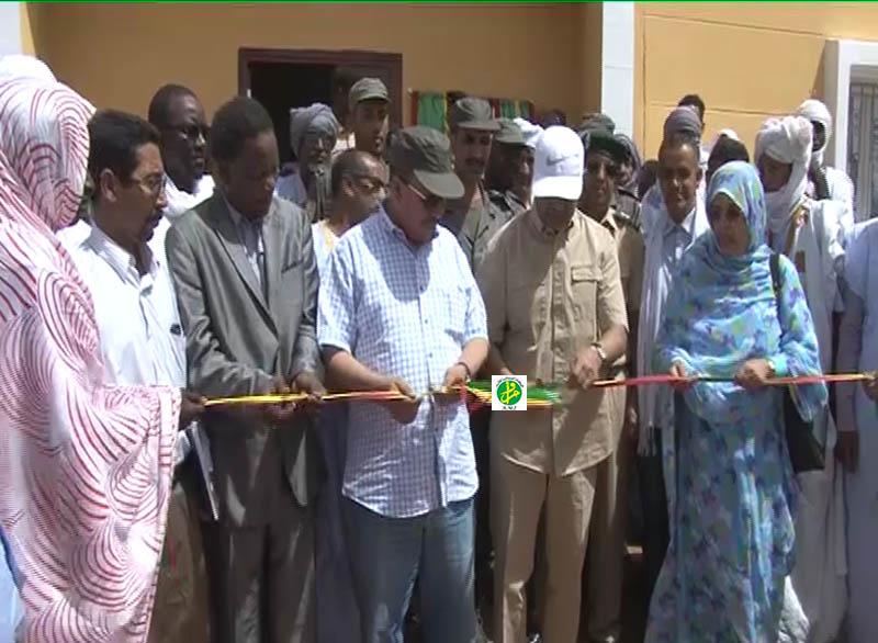 Le directeur de l'agence Tadamoun inaugure une école complète dans la commune de Legrane