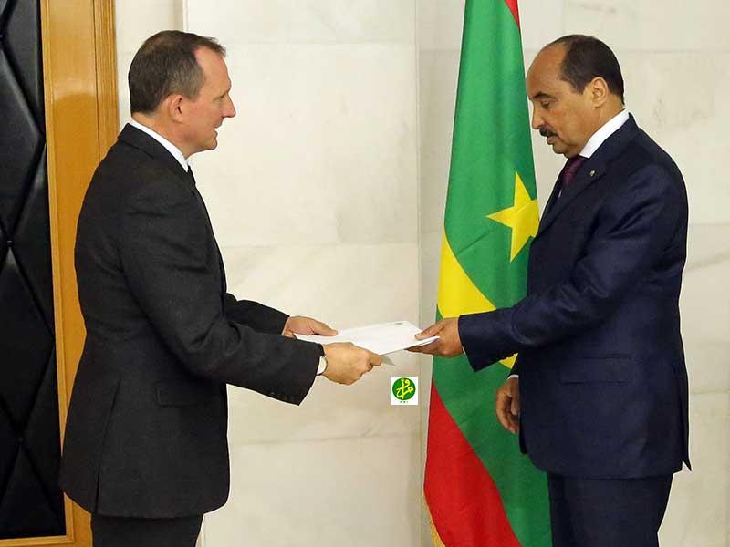 Le Président de la République reçoit les lettres de créance du nouvel ambassadeur du Royaume Uni