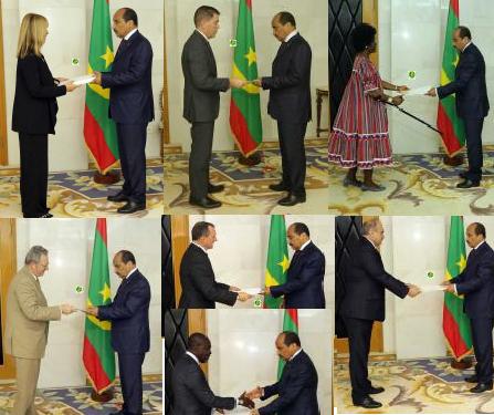 MOAZ accrédite 7 nouveaux ambassadeurs (Noms)