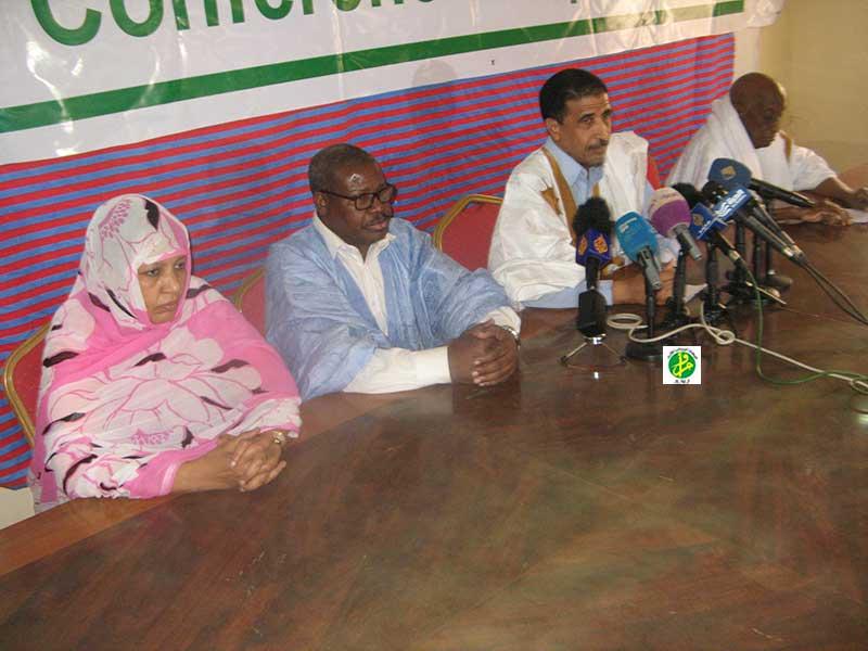 Le Forum National pour la Démocratie et l'Unité organise une conférence de presse