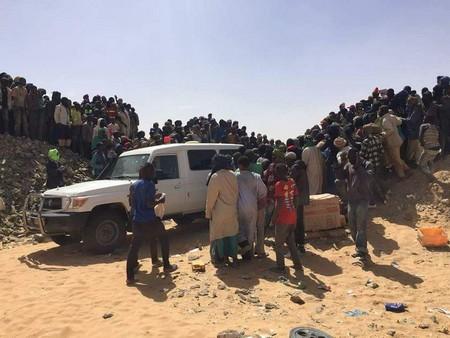 Mauritanie: Alerte l'effondrement d'un puits aurifère (photos)