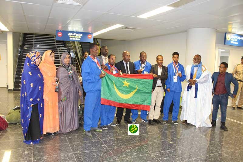 Le club des personnes handicapées remporte quatre médailles aux jeux Olympiques spéciaux d'été à Abou Dhabi