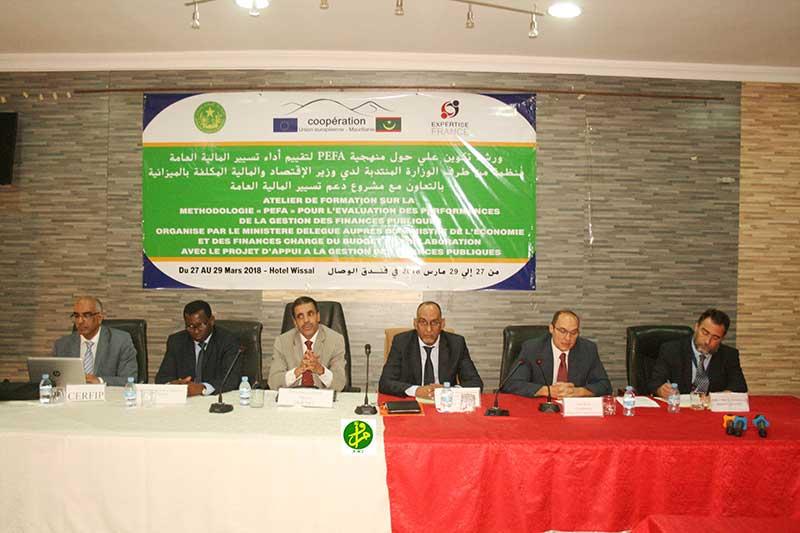 Formation sur la méthodologie et les outils du mécanisme d'évaluation de la gestion des finances publiques