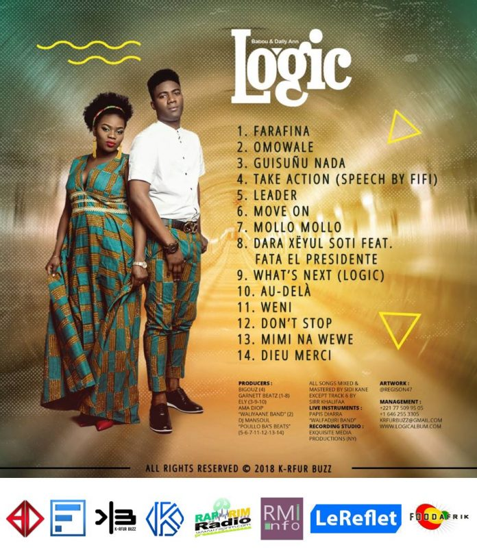 LOGIC : l'album de Dally Ann & babou dans les bacs