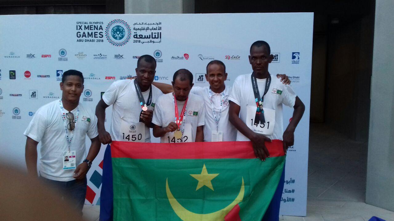 La Mauritanie remporte 4 médailles aux jeux olympiques d'Abu Dabi