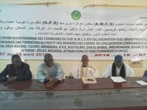 AMCS/GPS : Session de formation au profit des membres du CCC de la Commune de Rosso