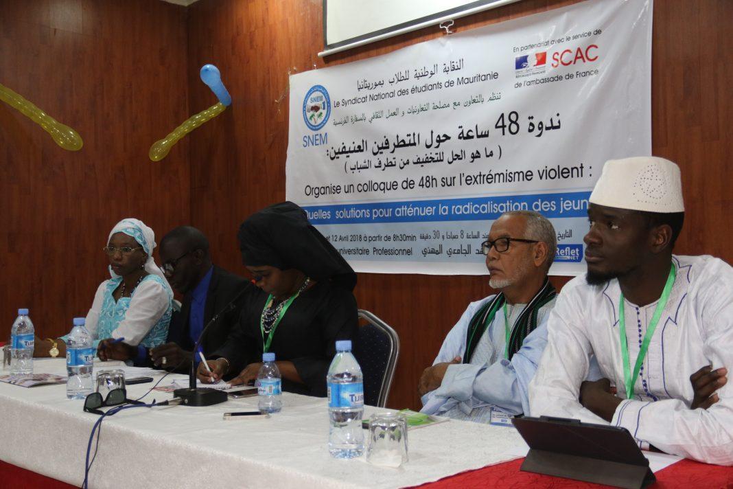Extrémisme violent: le SNEM organise un colloque à Nouakchott