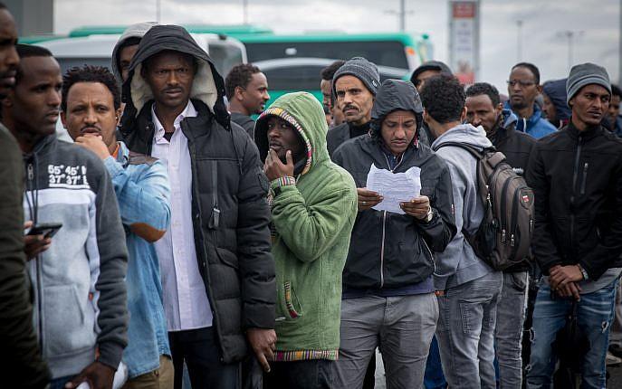 Israël a libéré de prison plus de 200 migrants africains illégaux