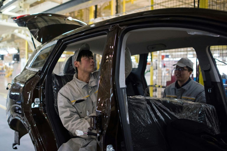 Automobile en Chine: fin d'ici 2022 de restrictions pour les groupes étrangers