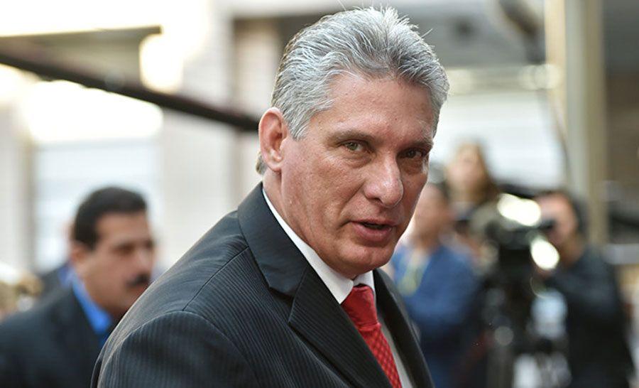 Presidente Díaz Canel