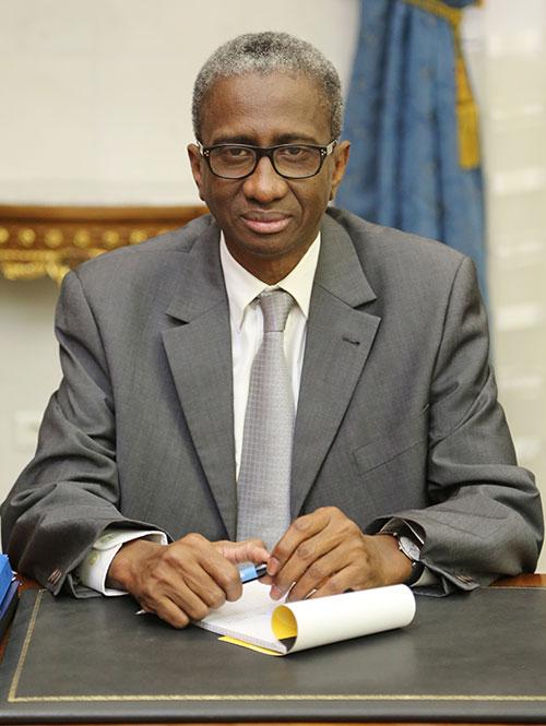 M. Diallo Mamadou Bathia ministre de la défense
