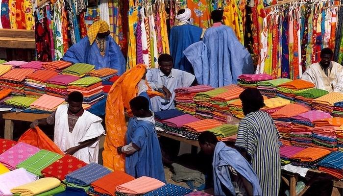 Grève au grand marché de Nouakchott