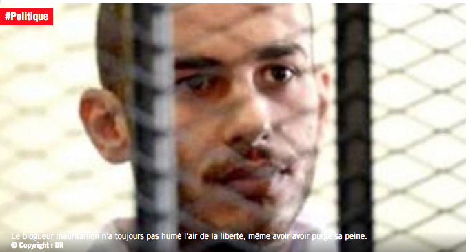 Mauritanie : le jeune blogueur Ould Mkheitir toujours en détention malgré avoir purgé sa peine