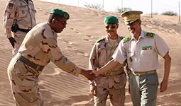 Le Colonel El Keihel prend fonction à la tête de la Région militaire
