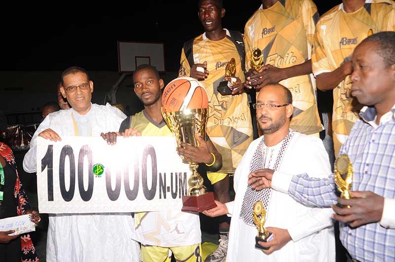 L'équipe ''Etoile du Nord'' couronnée championne de Basketball Senior