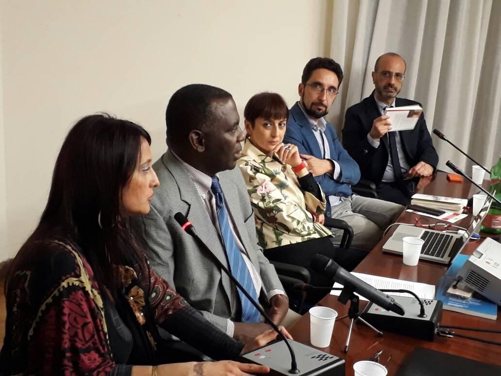 """Cérémonie de la présentation du livre: """" Plus jamais d'Esclavage; le Combat Pacifique de Biram Dah Abeid pour les Droits Humains en Mauritanie"""