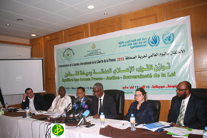Symposium international sur les médias et les droits de l'homme