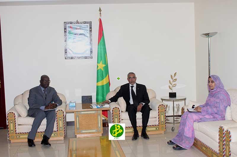 Le Premier ministre reçoit le Représentant de l'OMS à Nouakchott