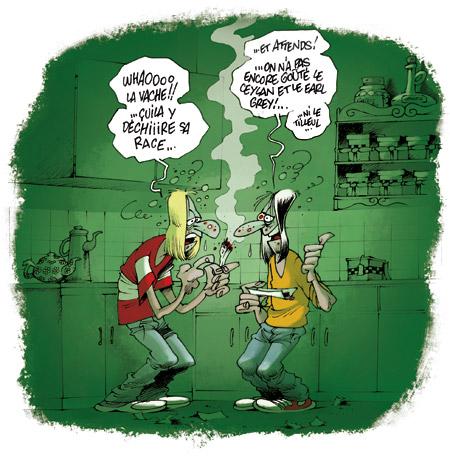 Incinération de quantité de drogue et de divers produits psychotropes au Hodh El Gharbi