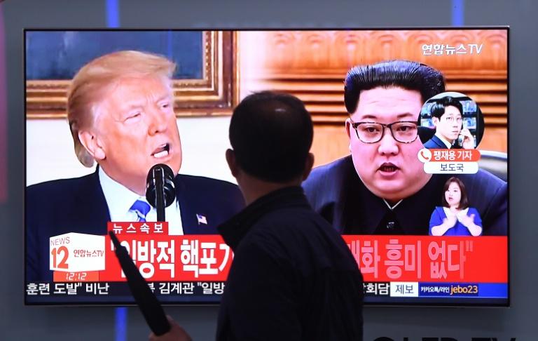 Pyongyang menace d'annuler le sommet avec Washington