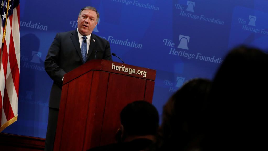 """Washington veut imposer à l'Iran les sanctions """"les plus fortes de l'Histoire"""""""