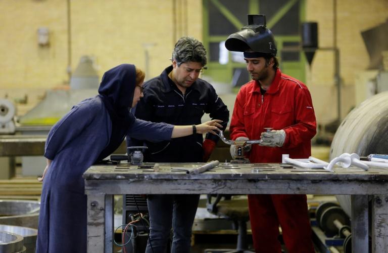 Les affaires d'un tandem féminin irano-suédois victimes de Trump