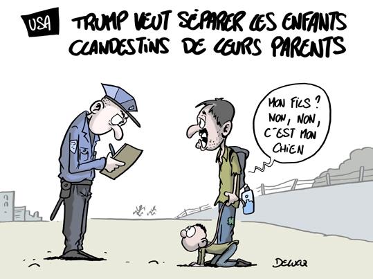 USA: séparer les enfants de leurs parents migrants, la mesure choc de Trump