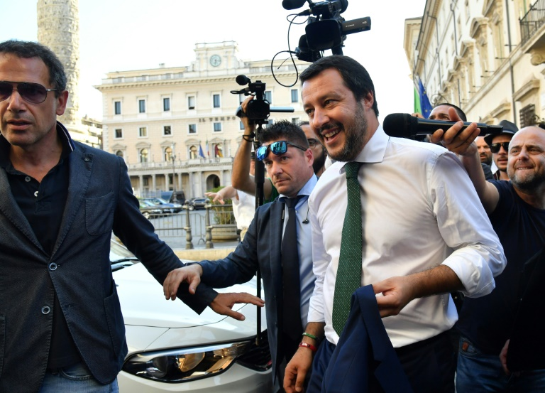 Salvini en Sicile pour marteler la nouvelle ligne italienne sur l'immigration
