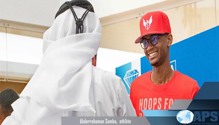 Athlétisme : le mauritanien Abderrahmane Samba brille sous les couleurs du Qatar