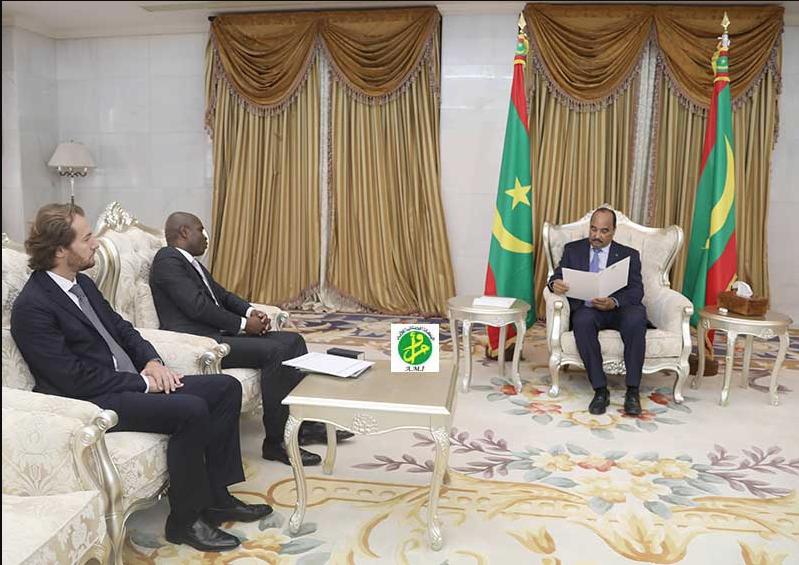 Le Président de la République reçoit un envoyé spécial du président congolais