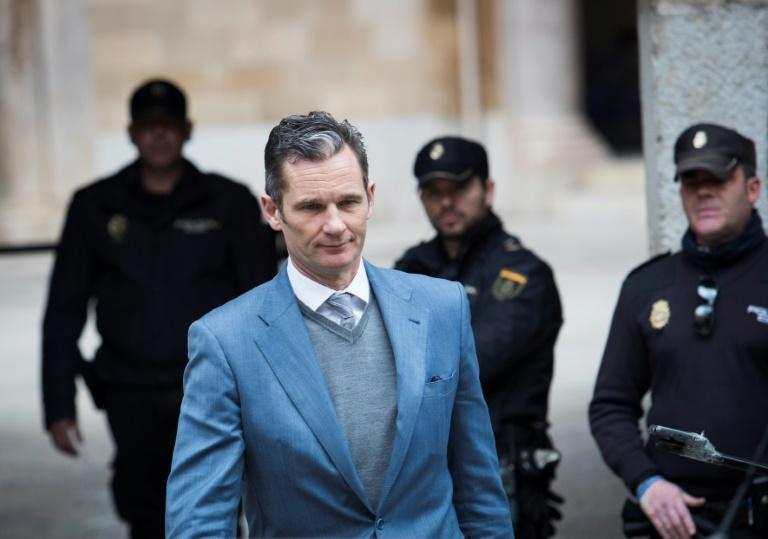 Le beau-frère du roi d'Espagne condamné en appel à 5 ans et 10 mois