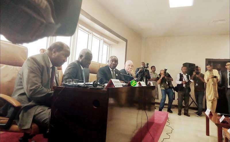 Le Conseil de paix et de sécurité de l'Union africaine examine la situation au Soudan du Sud