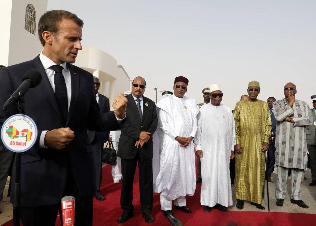 Le Président français réitère le soutien de la France à l'initiative de l'UA pour le financement de ses opérations militaires