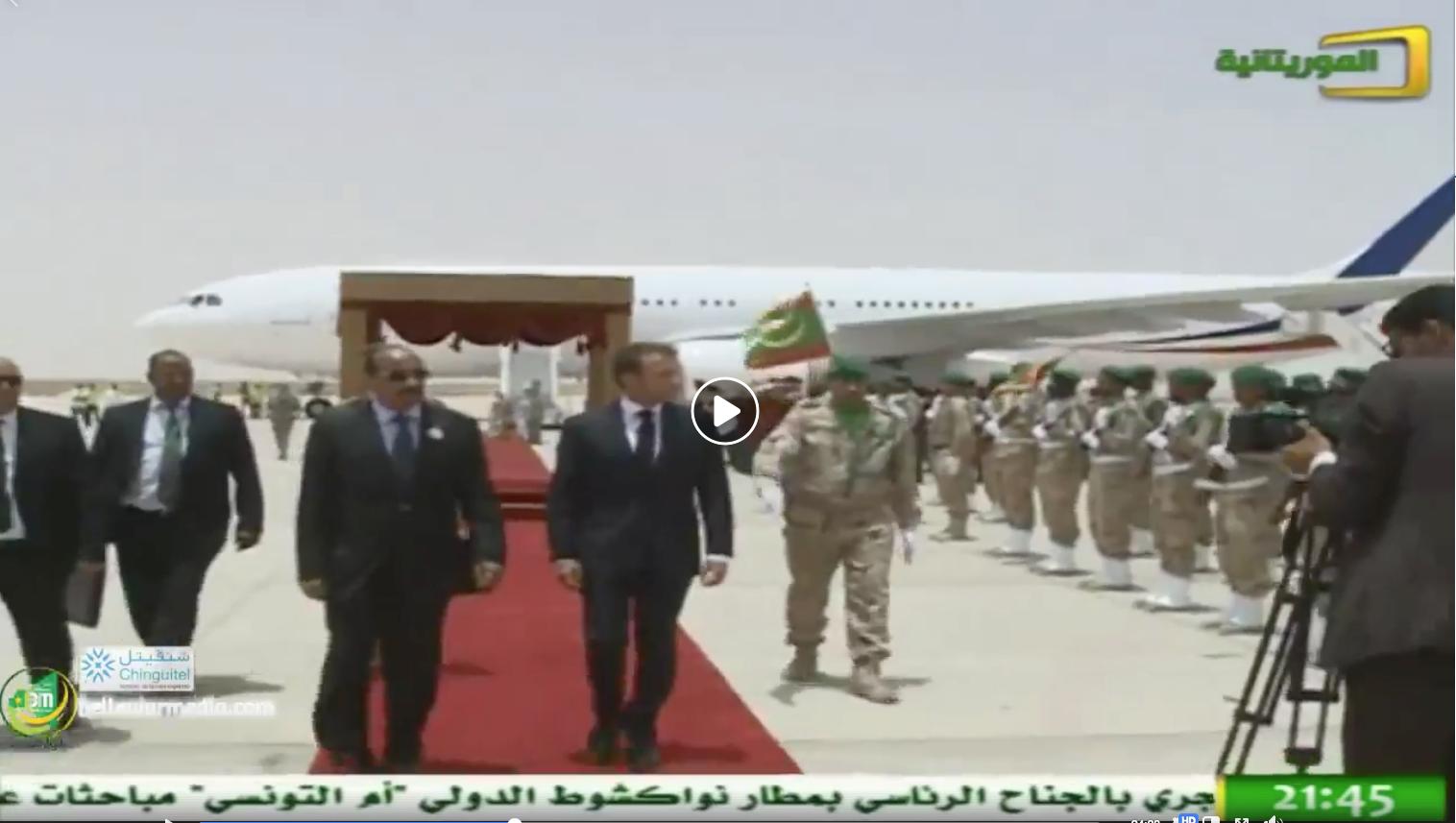 Macron a mis sa sécurité aux mains d'Aziz contrairement à d'Erdogan, Khadafi et d'autres...