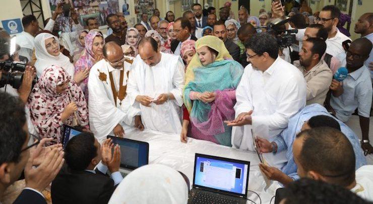 Les candidatures de l'UPR remises au président Aziz