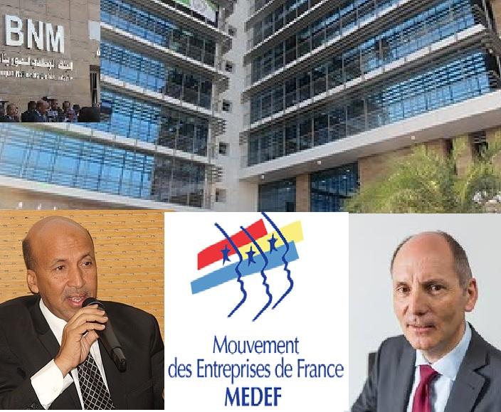 Rencontre d'affaires prometteuse entre la BNM et le MEDEF