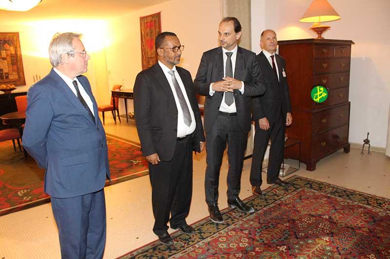 Point de presse du MEDEF en Mauritanie : ''notre visite souligne notre confiance en l'avenir économique du pays''