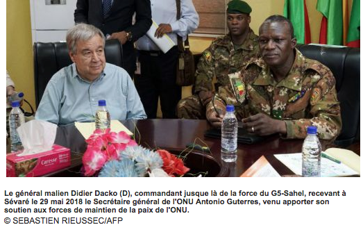 La force conjointe du G5-Sahel change de commandement