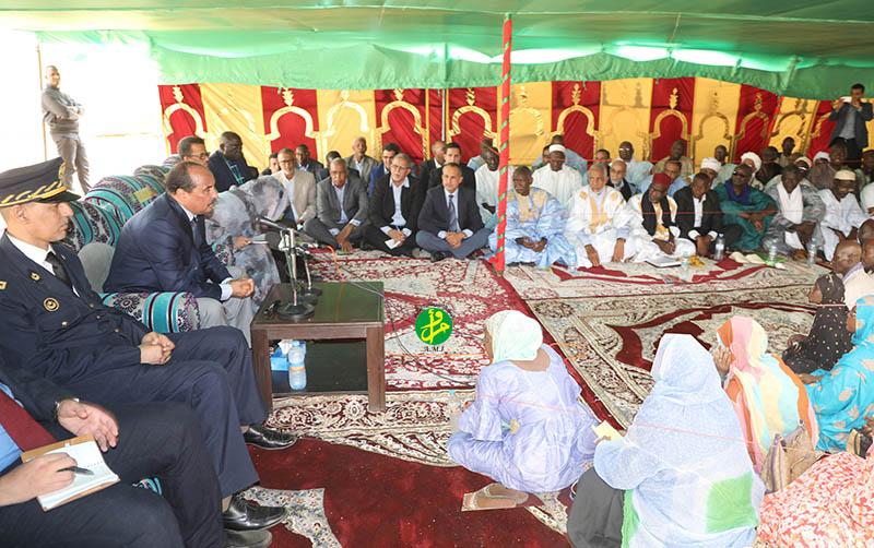 Le Président de la République tient une réunion avec les agriculteurs et acteurs du secteur agricole