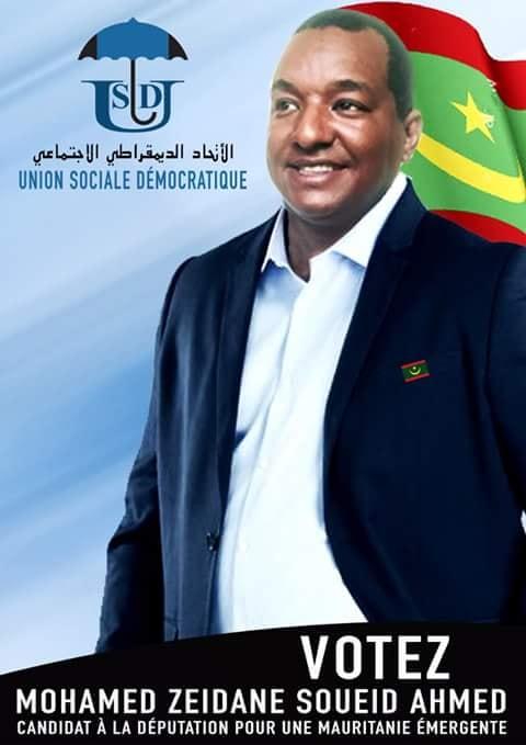Pourquoi pas  Zeidane Ould Soueid Ahmed du parti Union Sociale Démocratique ?